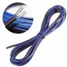 5M 4-Pin LED Extension Wire Connector Cable For 3528 5050 RGB Strip