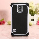 Heavy Duty 2 Layer Rugged Hybrid Hard Case For Samsung Galaxy S5 i9600