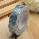 Glitter Star Washi Tape Adhesive Fabric Scrapbooking Sticker