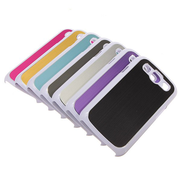Brushed Metal Aluminum Hard Case Cover For Samsung Galaxy S3 i9300