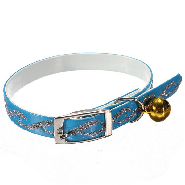 Adjustable Pet Dog Cat Safety Collar With Reflective Necklet Bell
