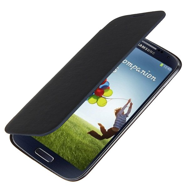 Flip-Open PU Leather Protective Case For Samsung Galaxy S4 i9500
