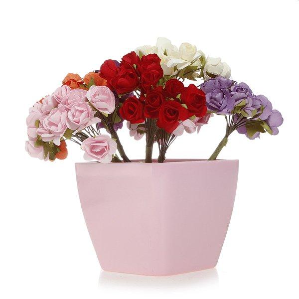 Wedding Scrapbooking DIY Handmade Mini Paper Flowers