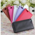 Brand New Candy Color Leather Flip Case Cover For iPhone 5 5S