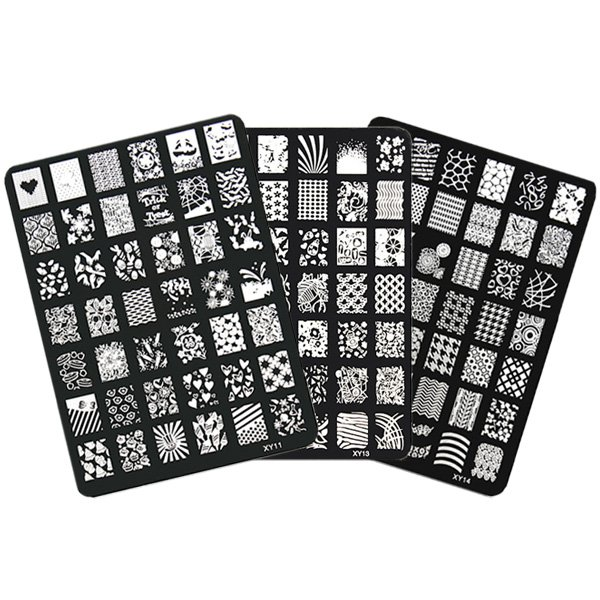 Nail Art Image Printing Plate Polish Stamping Template DIY Tips Design
