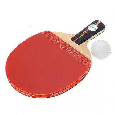 Table Tennis Racket Ping Pong Paddle Bat Case Bag New