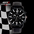 GT GRAND TOUCHING Silicone Band Quartz Analog Sport Watch