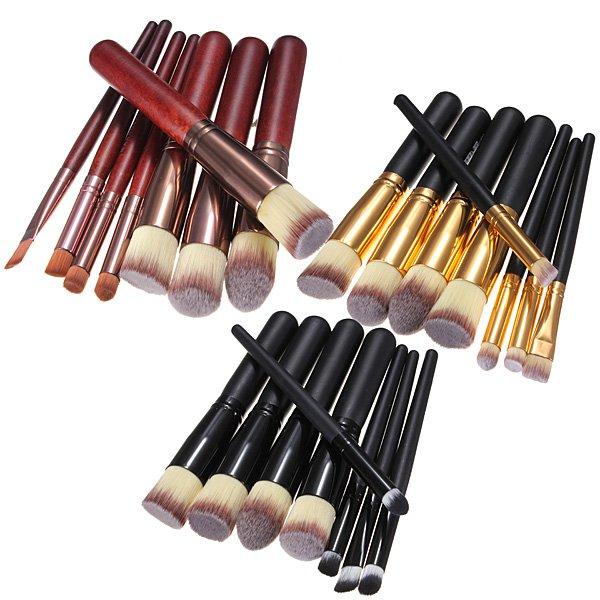 Professional Makeup Tool Cosmetic Brush Foundation Eyeshadow Set