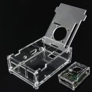 DIY Transparent V32 Version Acrylic Case For Raspberry Pi 2 Model B&B+