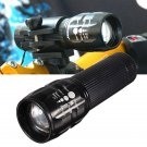 CREE 300lumens AAA Zoomable Bicycle Mini LED Flashlight