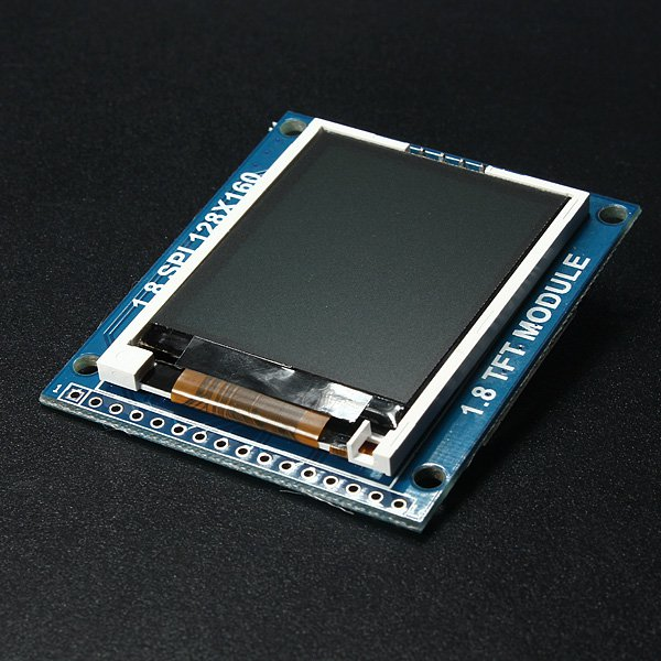 1.8 Inch Serial SPI TFT LCD Display Module With Power IC SD Socket