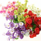 Artificial Campanula Flower Bouquet Party Home Centerpieces