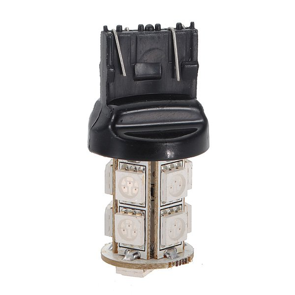 Car Red 13 SMD 5050 LED Stop Tail Brake Turn Side Light Lamp Bulb