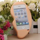 3D Funny Silicone Big Ear Style Soft Case Cover For iPhone 4S 4 4G