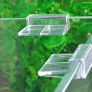 4PCS Aquarium Tank Plastic Clips Glass Cover Strong Support Holders
