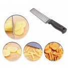 Potato Chip French Fries Wavy Cutter Slicer Vegetable Cutter