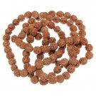 108pcs 8mm Rudraksha Prayer Beads Buddhist Tibetan Japa Mala