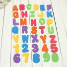 36pcs Foam Letters and Numbers EVA Baby Bathtub Floating Toy