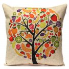 Vintage Cotton Linen Pillow Cases Home Decor Sofa Car Cushion Cover