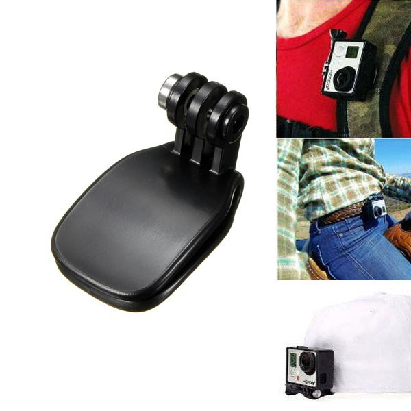 Travel Quick Clip Mount Accessories For Sports Camera GoPro HD Hero 2 3 3+
