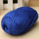 12Color Fingering Knitting Yarn Smooth Woolen Cotton Bamboo Yarn