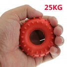 New 25KG Rubber Ring Grip Hand Gripper Device Strength Red