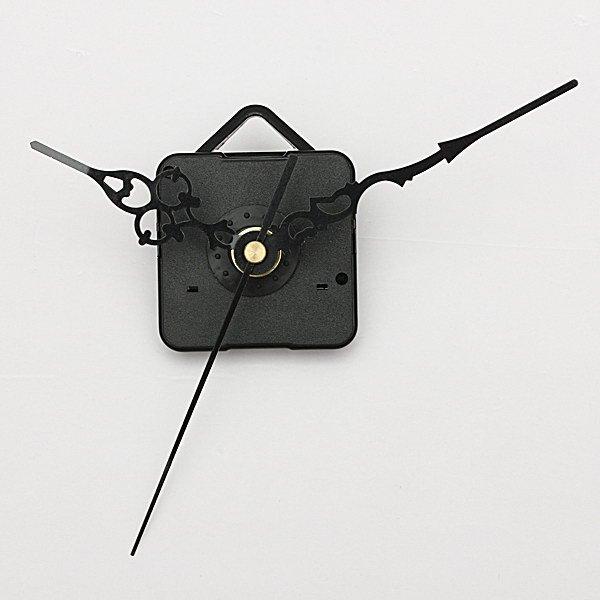 Black Hands DIY Quartz Wall Clock Spindle Movement Repair Parts