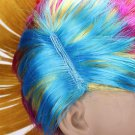 Colorful Carnival Mohawk Wig Fancy Party Mohican Rocker Wigs