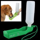 Plastic Portable Pet Dog Cat Water Feeding Feeder Bottle Drink Bowl