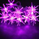 Multi-color LED Star String Light Lamp Outdoor Fairy Xmas Garden Party