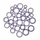 145pcs 8 Sizes HNBR Auto Air Conditioning Sealing O Ring Set