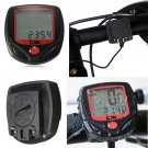 Bicycle Bike LCD Waterproof Display NR Computer Speedometer Odometer