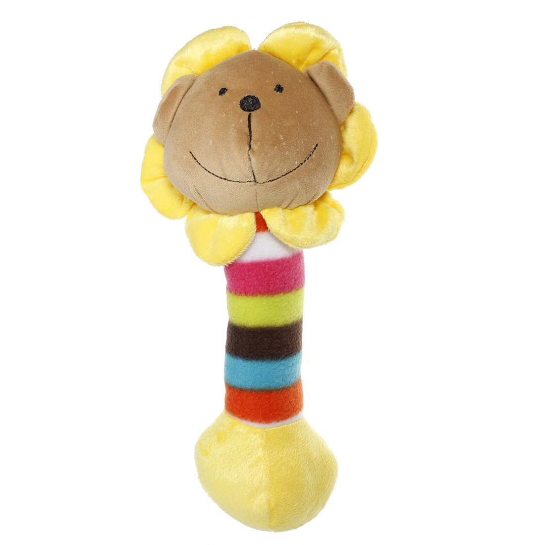 Cute Plush Pet Puppy Sound Lion Panda Giraffe Chew Squeaky