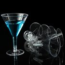 Large Disposable Party Martini Cocktail Wine Glasses
