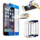 Colored Full Real Tempered Glass Screen Protector For iPhone 6 Plus