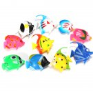 10 Tropical Marine Simulation Emulation Plastic Toy Fish