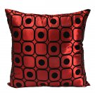 Dot Silk Pillow Throw Case Car Cushion Cover Decoration Sofa Bed