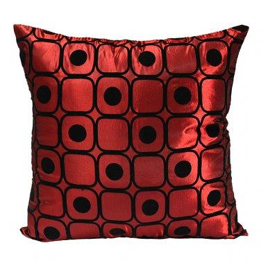 Dot Silk Pillow Throw Case Car Cushion Cover Decoration Sofa Bed