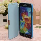 Glitter Diamond PU Leather Flip Case For Samsung Galaxy S5 i9600