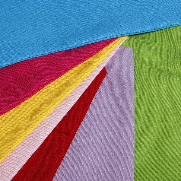 Candy Color Simple Design Pure Cotton Pillow Case Cushion Cover