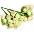 Beautiful Roses Artificial Silk Flowers Bouquet
