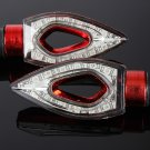 Motorcycle 12LED Turn Signal Indicator Blinker Light For Honda