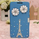 Bling Glitter Diamond PU Leather Flip Case For Samsung Note3 N9000
