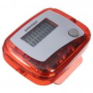 Mini Digital LCD Pedometer Run Step Walking Distance Calorie Counter Clip-on