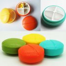 4 Compartment Travel Pill Box Organizer Tablet Medicine Storage Holder
