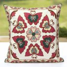 Retro Embroider Soft Pillow Case Home Office Car Cushion Cover