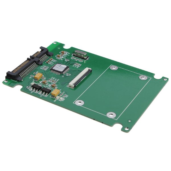 1.8 ZIF/LIF HDD Hard Disk Drive SSD to 7+15 22 Pin SATA Adapter
