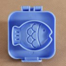 3D Fish Sushi Rice Ball Bento Egg Mold