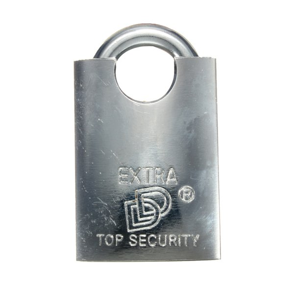 4 Key Heavy Duty Closed Shackle High Security Solid Steel Lock Padlock