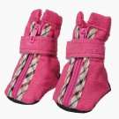 Pet Dog Winter Warm Anti-slip Boots Soft Shoes Sneakers Booties